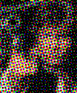 an example of a color halftone